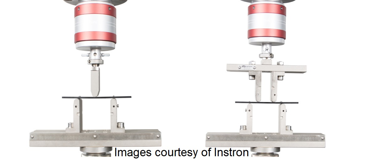Instron Bend Testing Elastic Modulus FEA Stress Analysis